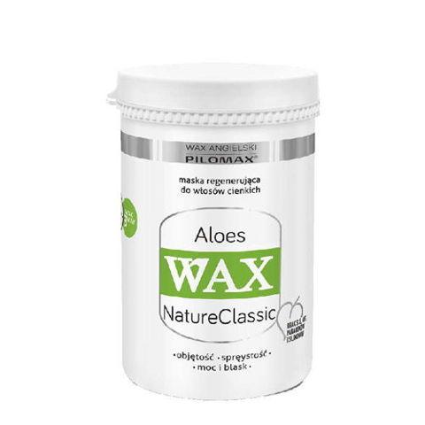WAX Pilomax NaturClassic Aloes maska regenerująca do włosów cienkich 240ml