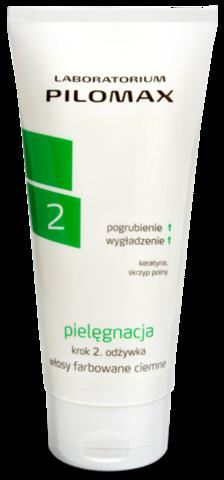 WAX Pilomax pielęgnacja krok 2 odżywka do włosów farbowanych ciemnych 200ml