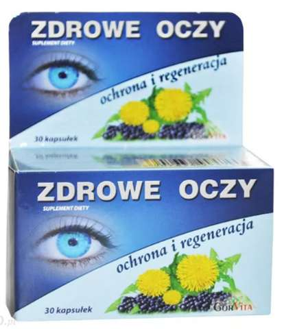 Zdrowe oczy ochrona i regeneracja x 30 kapsułek