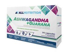 ALLNUTRITION Ashwagandha + Guarana x 30 kapsułek