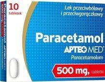 APTEO MED Paracetamol 0,5g x 10 tabletek