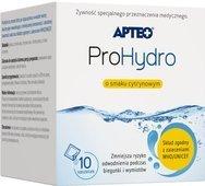 APTEO ProHydro o smaku cytrynowym x 10 saszetek - data ważności 31-10-2019