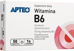 APTEO Witamina B6 10mg x 50 tabletek