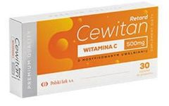 Cewitan Retard 500mg x 30 tabletek
