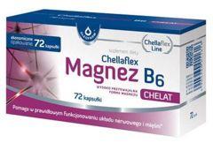 Chellaflex Magnez B6 x 72 kapsułki