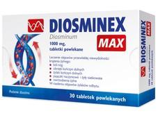 DIOSMINEX MAX 1000mg x 30 tabletek