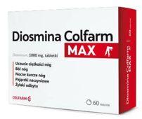 Diosmina Colfarm Max x 60 tabletek
