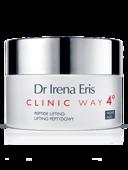 Dr Irena Eris CLINIC WAY 4° Lifting peptydowy 60+ krem na noc 50ml