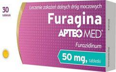 Furagina APTEO MED 50mg x 30 tabletek