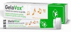 GELOVOX Na gardło cytrusowo-mentolowe x 20 tabletek do ssania