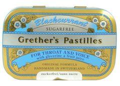 Grether's Pastilles pastylki na gardło smak czarnej porzeczki 60g