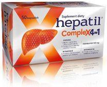 HEPATIL COMPLEX 4w1 x 50 kapsułek