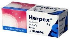 HERPEX krem 2g
