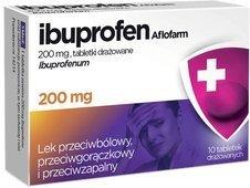 IBUPROFEN AFLOFARM 200mg x 10 tabletek