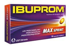 IBUPROM MAX Sprint x 10 kapsułek