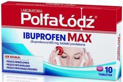 Ibuprofen Max 400mg x 10 tabletek