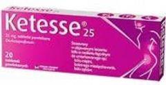 Ketesse 25 x 20 tabletek