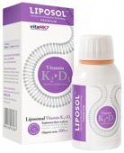 Liposol Vitamin K2+D3 liposomalna 100ml - data ważności 30-06-2019