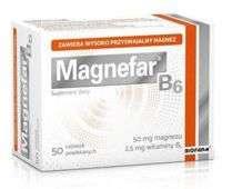 MAGNEFAR B6 x 60 tabletek