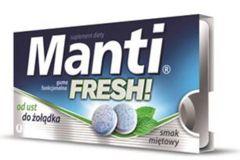 MANTI FRESH Guma funkcjonalna smak miętowy x 10 sztuk