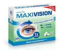 MAXIVISION x 30 kapsułek - data ważności 31-10-2019