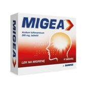 MIGEA 200mg x 4 tabletki
