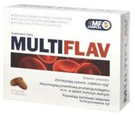 MULTIFLAV x 30 tabletek - data ważności 31-07-2017r.