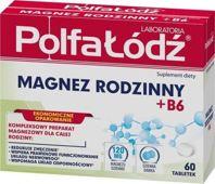 Magnez rodzinny + B6 x 60 tabletek