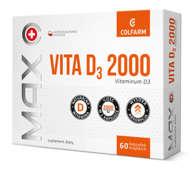 Max Vita D3 2000 x 60 kapsułek