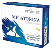 Melatonina 1mg x 90 tabletek