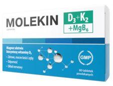 Molekin D3 + K2 + MgB6 x 60 tabletek