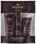 NUXE Men Zestaw podróżny Wielofunkcyjny żel pod prysznic 30ml + Żel do golenia 35ml + Nawilżający żel do twarzy 15ml