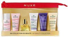NUXE Zestaw podróżny 5 miniproduktów + kosmetyczka Gratis!