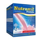 Nutramil complex Protein o smaku truskawkowym x 6 saszetek + 2 saszetki Nutramil complex smak waniliowy GRATIS!