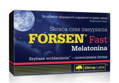 OLIMP Forsen Fast Melatonina x 30 tabletek