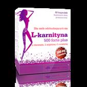 OLIMP L-karnityna 500 Forte Plus x 60 kapsułek