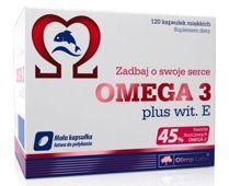 OLIMP Omega 3 plus 500mg x 120 kapsułek - data ważności 31-08-2019r.