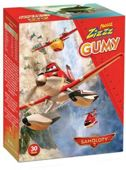 PLUSSSZ ZIZZZ Samoloty gumy do żucia rozpuszczalne x 30 sztuk