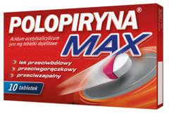 POLOPIRYNA MAX 0,5g x 10 tabletek dojelitowych