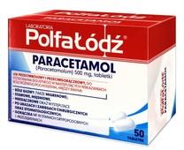 Paracetamol 0,5g x 50 tabletek