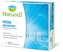 Potas organiczny 80mg x 100 tabletek
