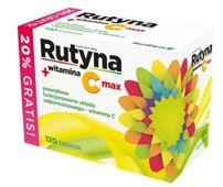 RUTYNA + witamina C max  x 120 tabletek