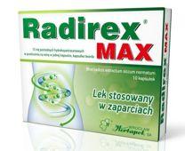 Radirex MAX x 10 kapsułek