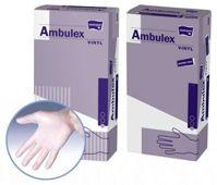 Rękawice Ambulex Vinyl niejałowe pudrowane rozmiar M x 100 sztuk