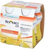 Resource 2.0 smak waniliowy 200ml x 4 sztuki