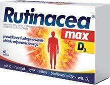 Rutinacea Max D3 x 60 tabletek