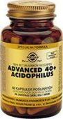 SOLGAR Advanced 40+ Acidophilus x 60 kapsułek - data ważności 30-11-2019