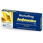 TEST Narkodiag Amfetamina - data ważności 30-09-2019r.