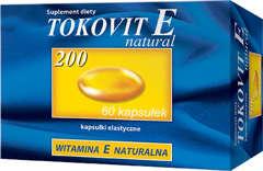 TOKOVIT E natural 200 x 60 kapsułek