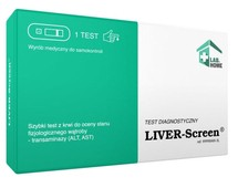 Test LIVER-Screen x 1 sztuka